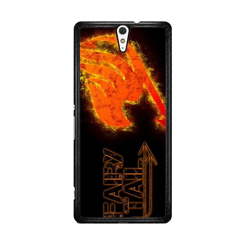 Flazzstore Fairy Tail Logo F0409 Custom Casing for Sony Xperia C5 Ultra