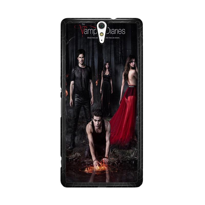 Flazzstore Vampire Diaries Season 5 Posters Z0151 for Sony Xperia C5 Ultra