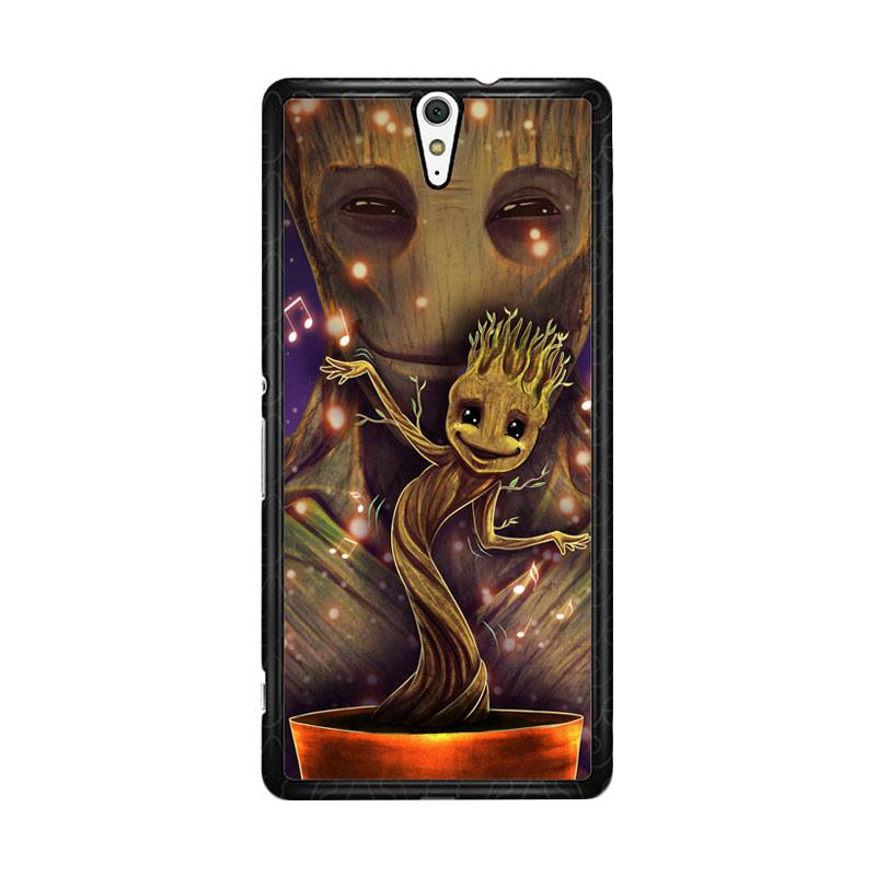 Flazzstore Groot Dancing And Smile Z0190 Custom Casing for Sony Xperia C5 Ultra