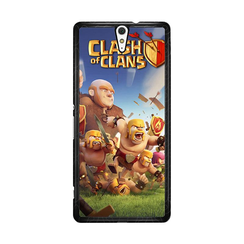 Flazzstore Clash Of Clans Mobile Games Z0430 Custom Casing for Sony Xperia C5 Ultra