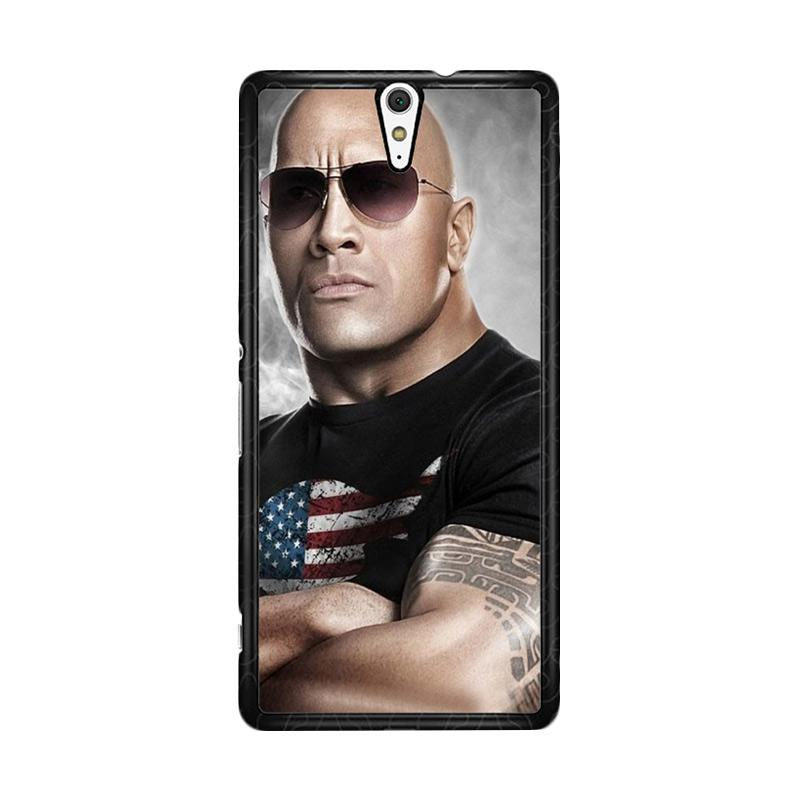 Flazzstore The Rock Dwayne Johnson Z0786 Custom Casing for Sony Xperia C5 Ultra