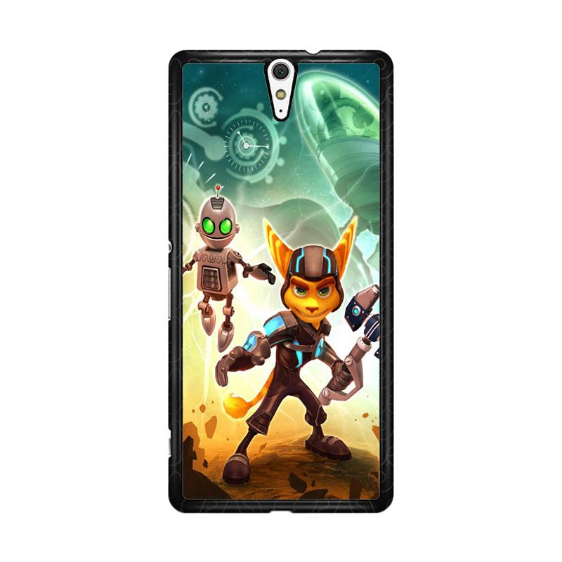 Flazzstore Ratchet And Clank Z1150 Custom Casing for Sony Xperia C5 Ultra