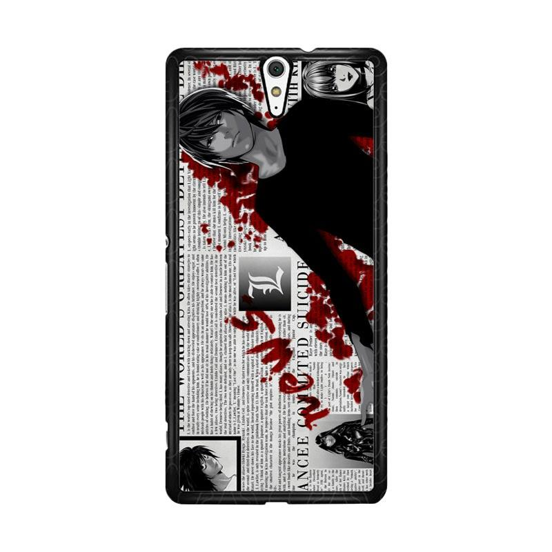 Flazzstore Death Note Z1215 Custom Casing for Sony Xperia C5 Ultra