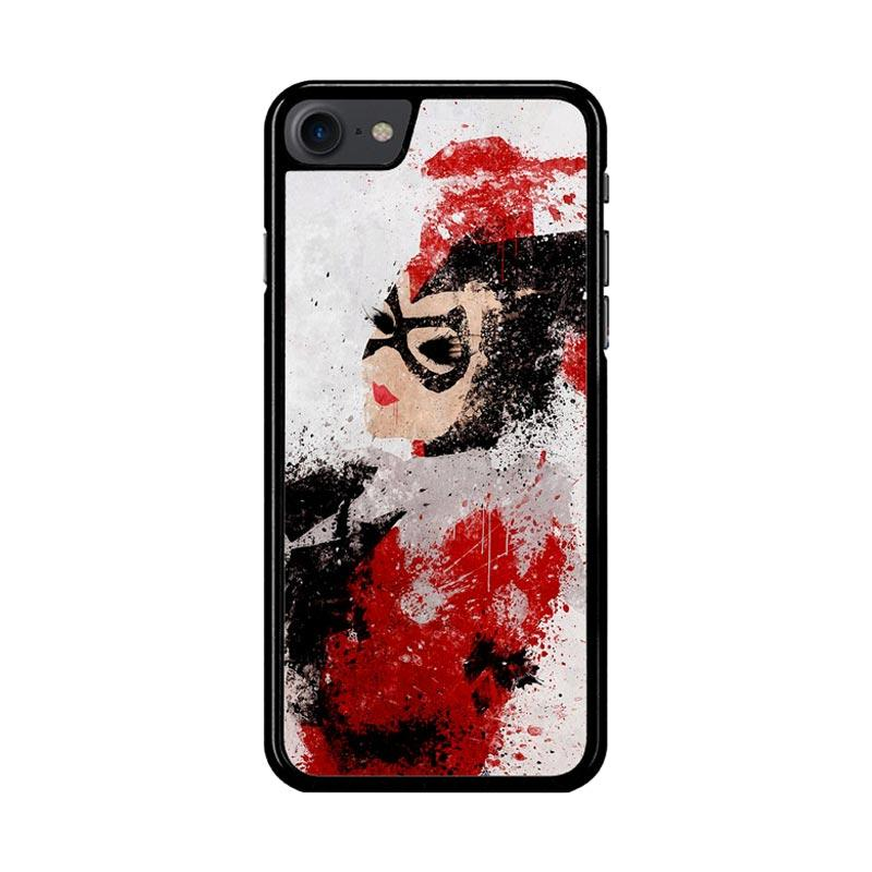 Flazzstore Harley Quinn Painting Z1686 Custom Casing for iPhone 7 or 8