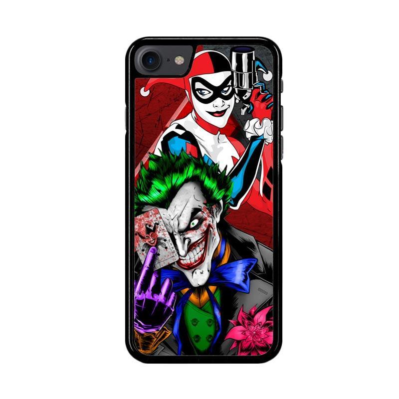 Flazzstore The Joker Harley Quinns Revenge Z2258 Custom Casing for iPhone 7 or 8