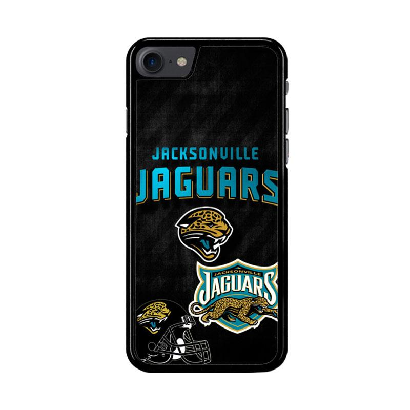 Flazzstore Jacksonville Jaguars Logo Z3006 Custom Casing for iPhone 7 or 8