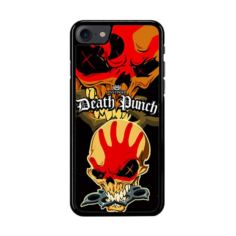 Flazzstore Five Finger Death Punch Z3324 Custom Casing for iPhone 7 or 8