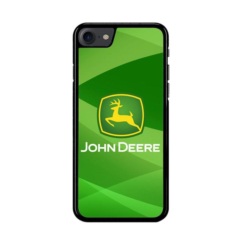 Flazzstore John Deere Logo Z3366 Custom Casing for iPhone 7 or iPhone 8