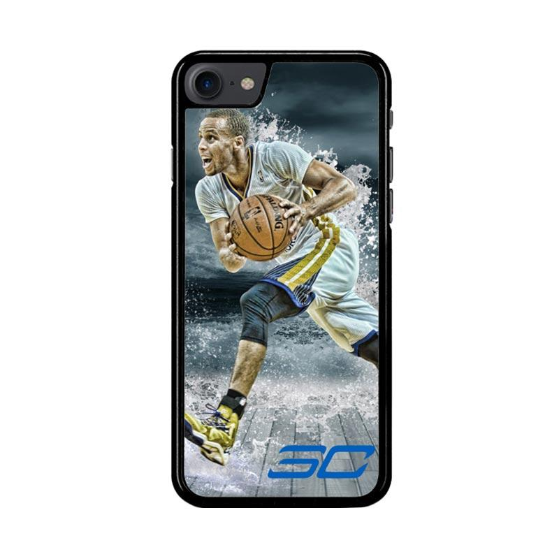 Flazzstore Stephen Curry Water Art Z3892 Custom Casing for iPhone 7 or 8