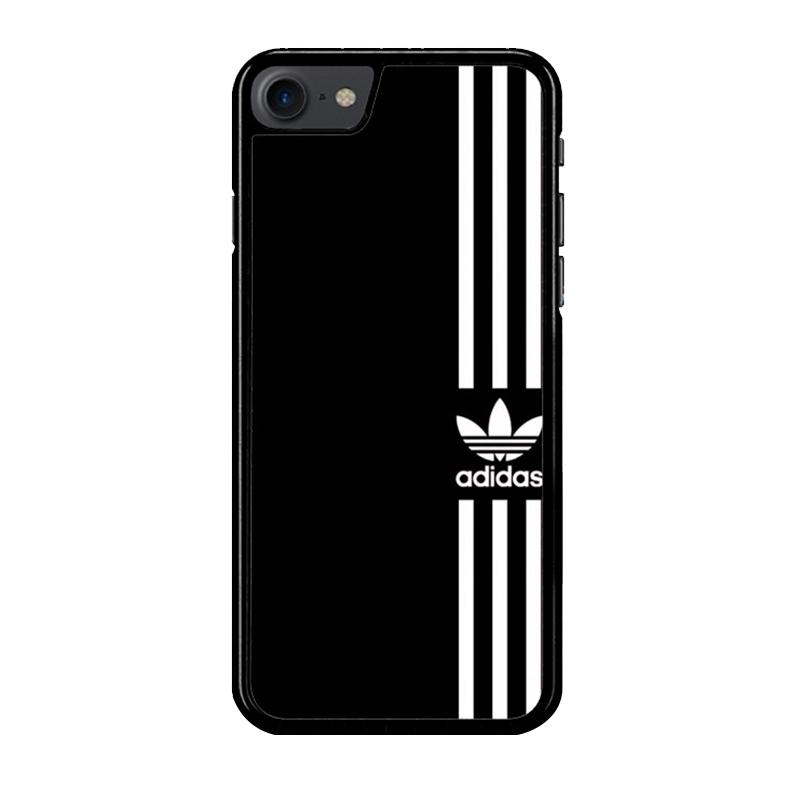 Flazzstore Adidas Logo Black White Z4002 Custom Casing for iPhone 7 or 8