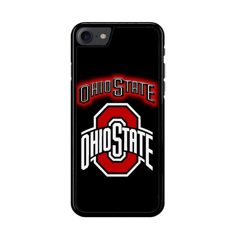 Flazzstore Ohio State Buckeyes Logo Z4058 Custom Casing for iPhone 7 or 8
