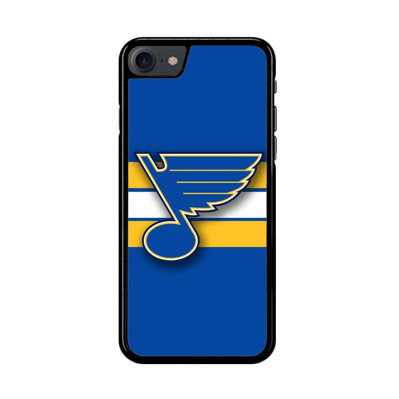 Flazzstore St Louis Blues Logo Z4137 Custom Casing for iPhone 7 or 8