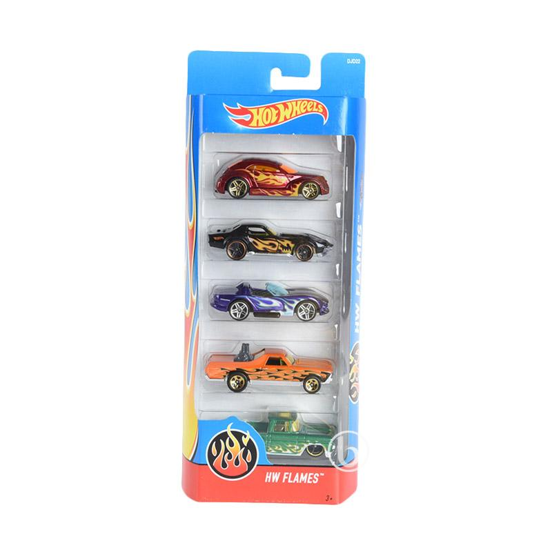 Hotwheels HW Flames Set Diecast 5 pcs