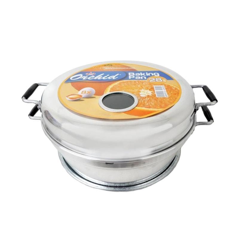 harga Orchid Baking Pan Loyang Kue Bolu  [28 cm] Blibli.com