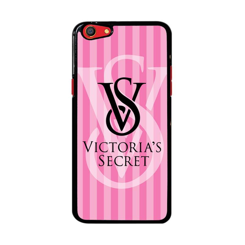 Flazzstore Victoria Secret Logo Pink Z3874 Custom Casing for Oppo F3