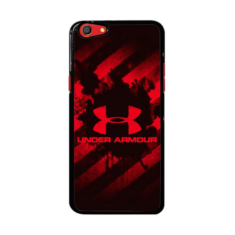 Flazzstore Under Armour Red Z4027 Custom Casing for Oppo F3