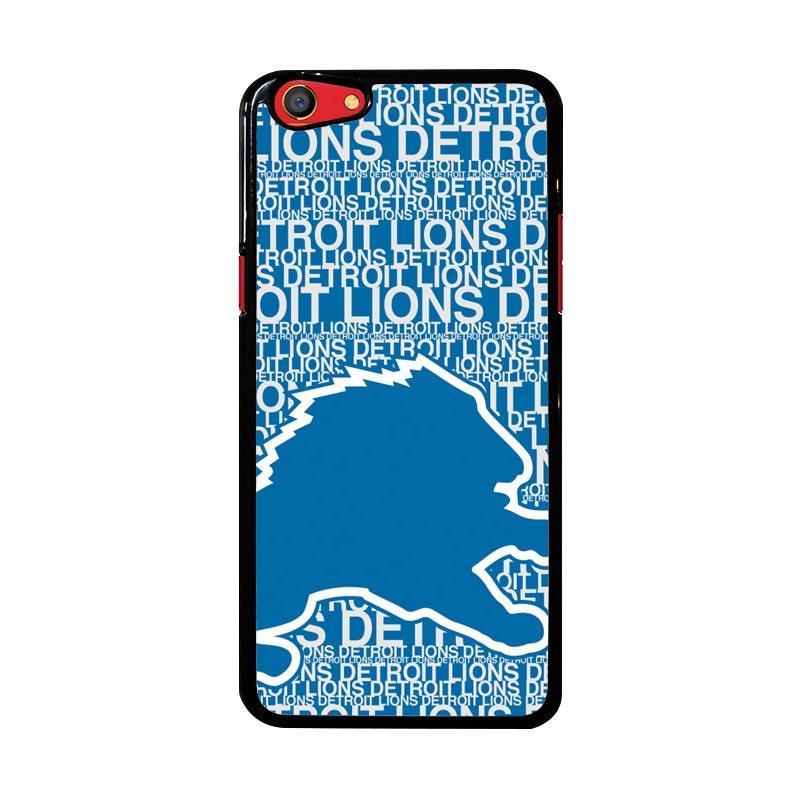 Flazzstore Nfl Detroit Lions Z4139 Custom Casing for Oppo F3