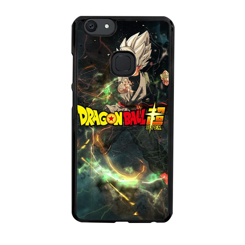 Flazzstore Black Goku Dragon Ball Zuper Z3964 Custom Casing for Vivo V7 Plus