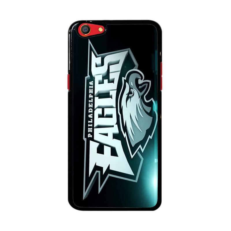 Flazzstore Philadelphia Eagles Logo Z4254 Custom Casing for Oppo F3