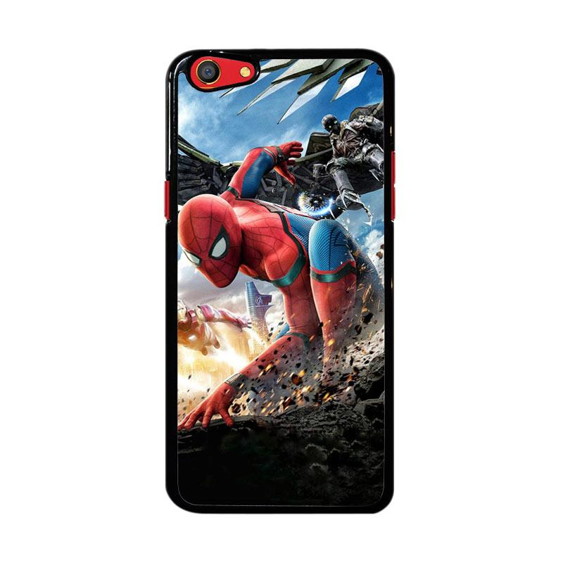 Flazzstore Spiderman Homecoming Z4987 Custom Casing for Oppo F3