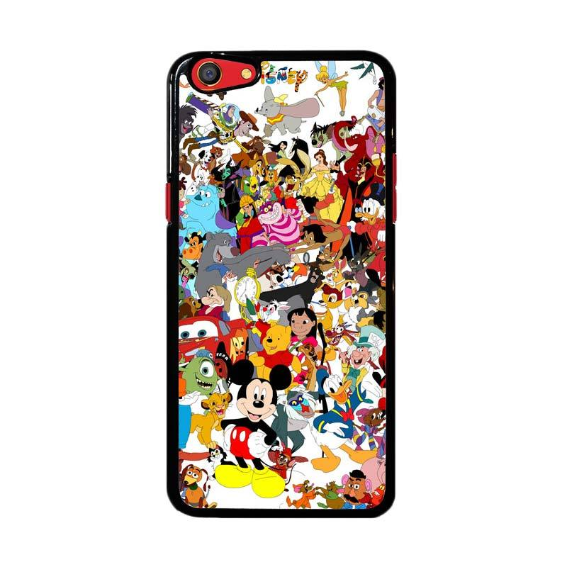 Flazzstore Disney Cartoon Characters F0361 Custom Casing for Oppo F3