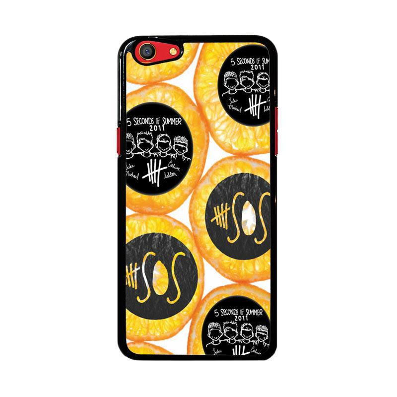 Flazzstore 5 Seconds Of Summer Fruit D0030 Custom Casing for Oppo F3