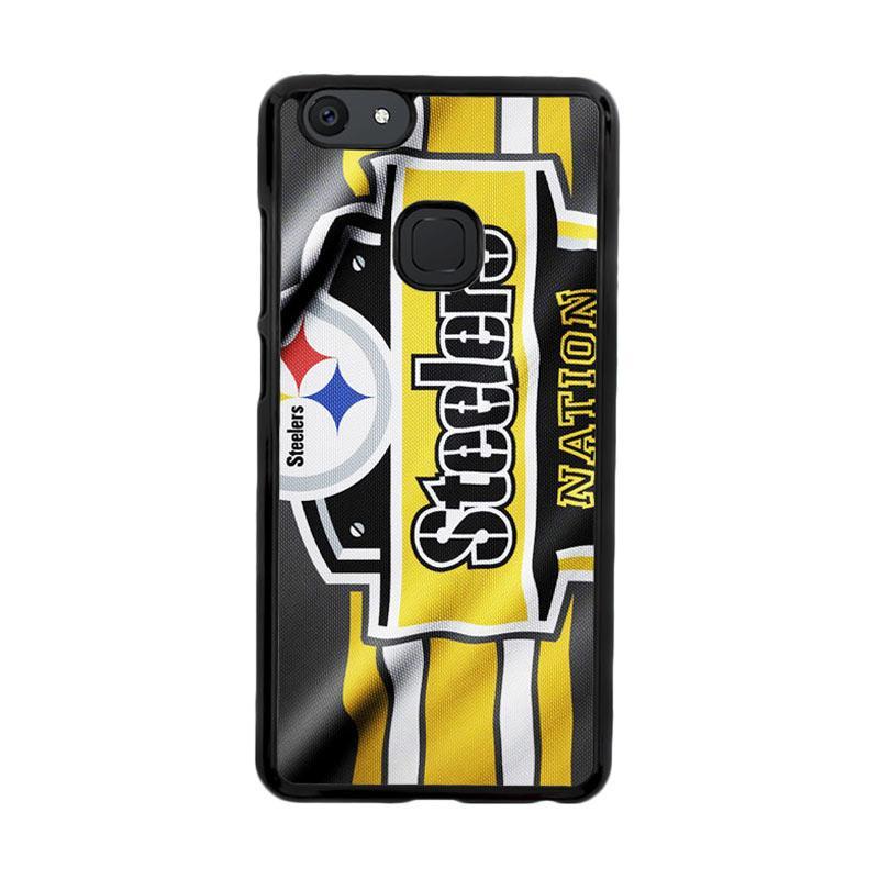 Flazzstore Pittsburgh Steelers Nation Z4881 Custom Casing for Vivo V7 Plus
