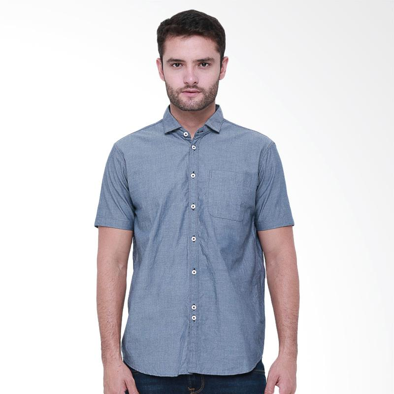 Tendencies Shirt Authentic Chambray Kemeja Pria