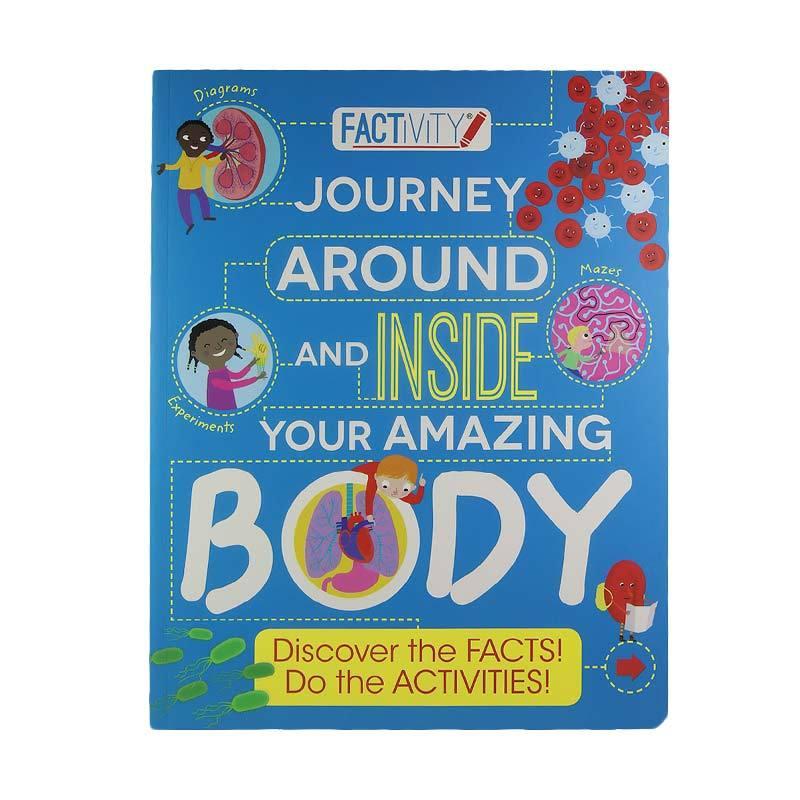 Parragon Books Journey Around And Inside Your Amazing Body by Factivity Buku Edukasi Anak