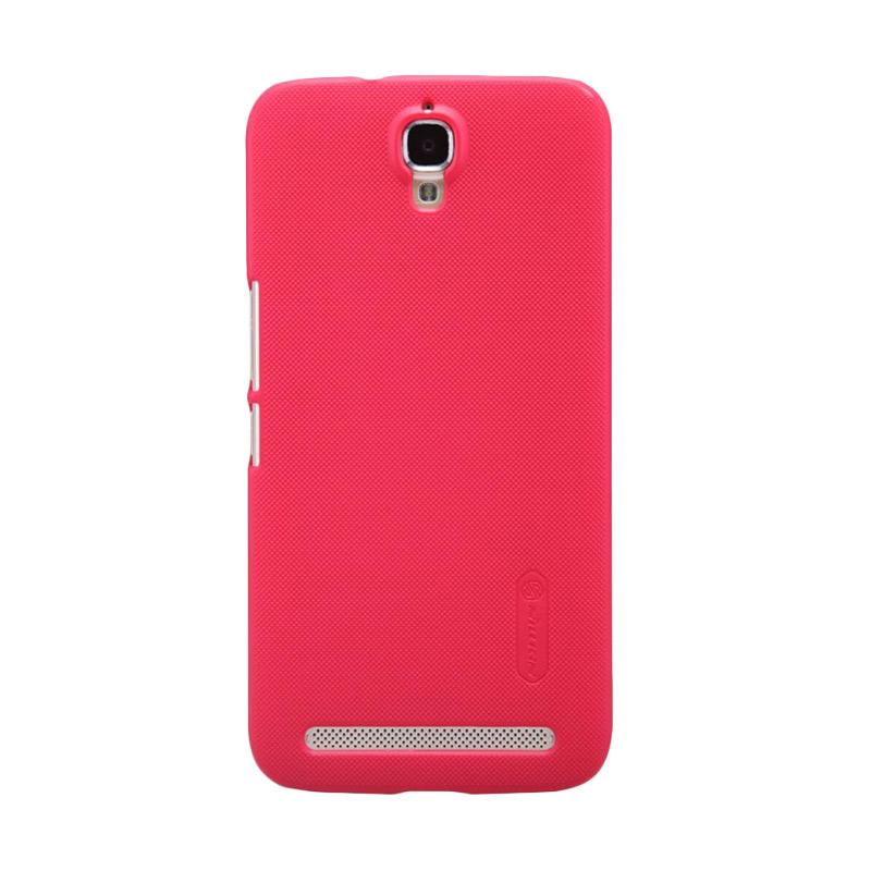 harga Nillkin Super Frosted Shield Hardcase Casing for TCL 3N M2M Alcatel One Touch Flash Plus - Red Blibli.com