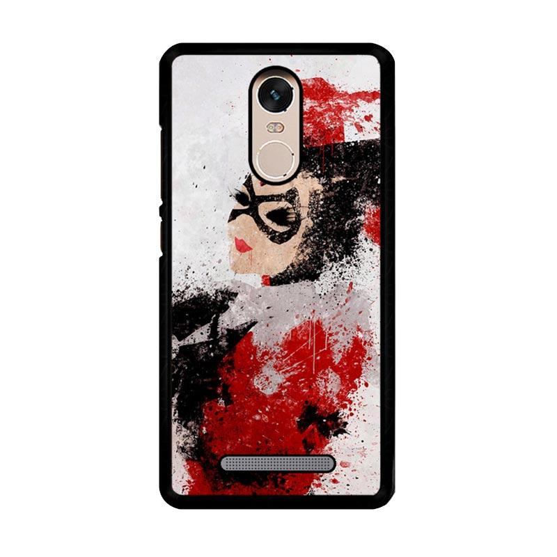 Flazzstore Harley Quinn Painting Z1686 Custom Casing for Xiaomi Redmi Note 3 or Note 3 Pro
