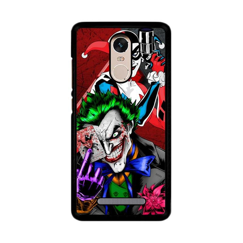 Flazzstore The Joker Harley Quinns Revenge Z2258 Custom Casing for Xiaomi Redmi Note 3 or Note 3 Pro