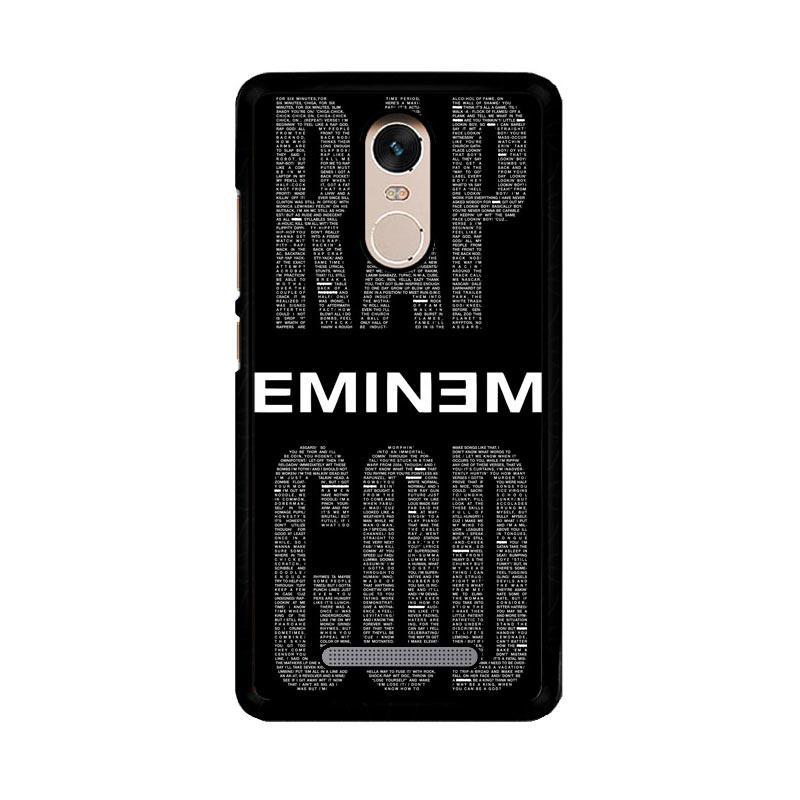 Flazzstore Rap God Eminem Z2835 Custom Casing for Xiaomi Redmi Note 3 or Note 3 Pro