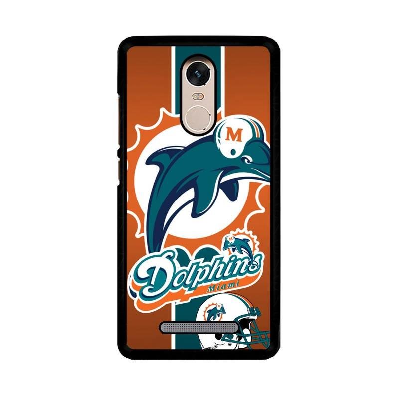 Flazzstore Miami Dolphins Z2995 Custom Casing for Xiaomi Redmi Note 3 or Note 3 Pro