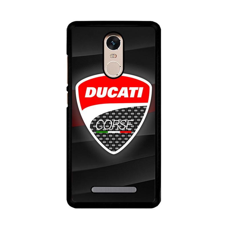 Flazzstore Ducati Corse Logo Z3276 Custom Casing for Xiaomi Redmi Note 3 or Note 3 Pro