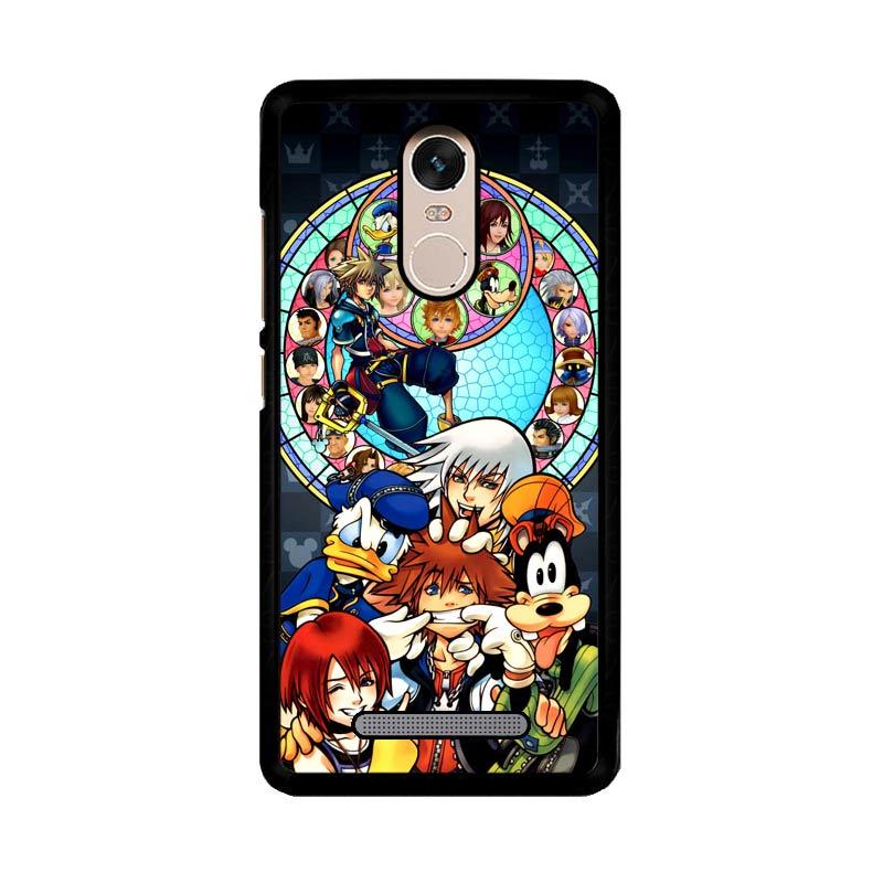 Flazzstore Kingdom Hearts Z3294 Custom Casing for Xiaomi Redmi Note 3 or Note 3 Pro