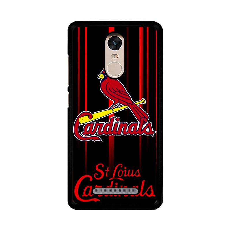 Flazzstore St. Louis Cardinals Logo Z3317 Custom Casing for Xiaomi Redmi Note 3 or Note 3 Pro
