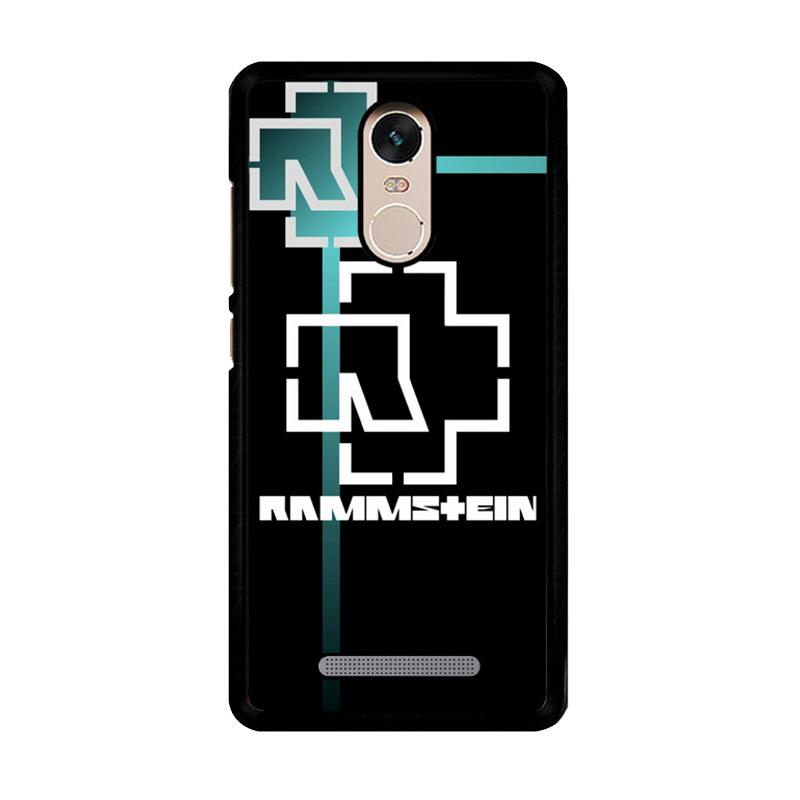 Flazzstore Rammstein  Logo Z3536 Custom Casing for Xiaomi Redmi Note 3 or Note 3 Pro