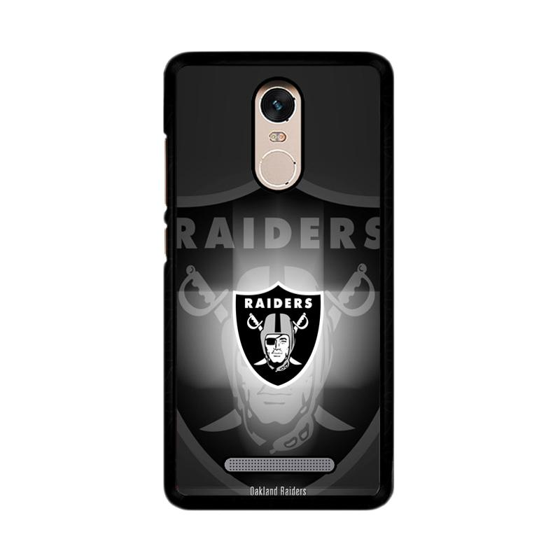 Flazzstore Logo Oakland Raiders Z4062 Custom Casing for Xiaomi Redmi Note 3 or Note 3 Pro