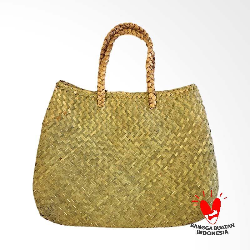harga Native Borneo Handmade Seagrass Tas Anyaman Rotan Wanita Blibli.com