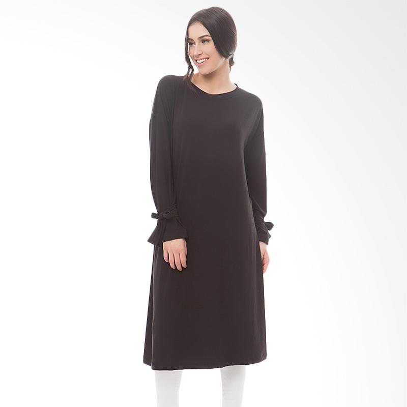 Tendencies Usagi Tops Tunik Wanita - Black