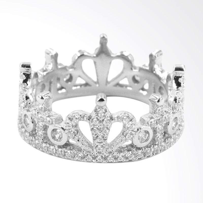 harga D'Paris SRS3005309 Crown Ring Blibli.com