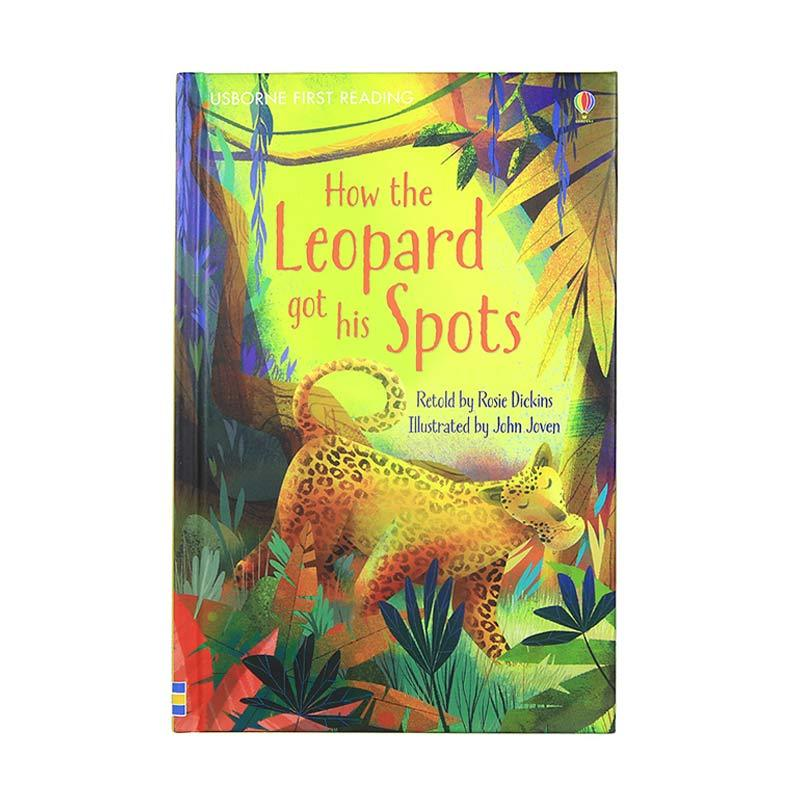 Usborne Books How The Leopard Got His Spots by Rosie Dickins Buku Anak