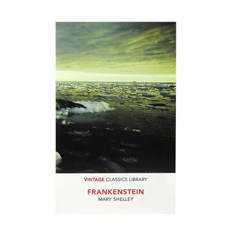 Vintage Classics Frankenstein by Mary Shelley Buku Fiksi