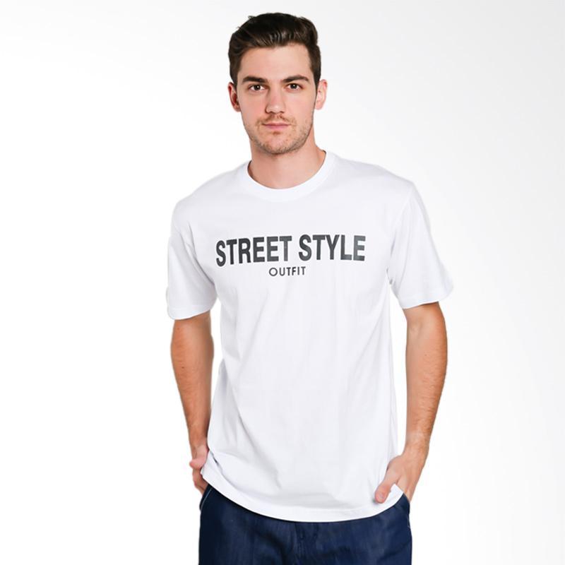 Hypestore Street Syle T-Shirt Pria [3037-8743]