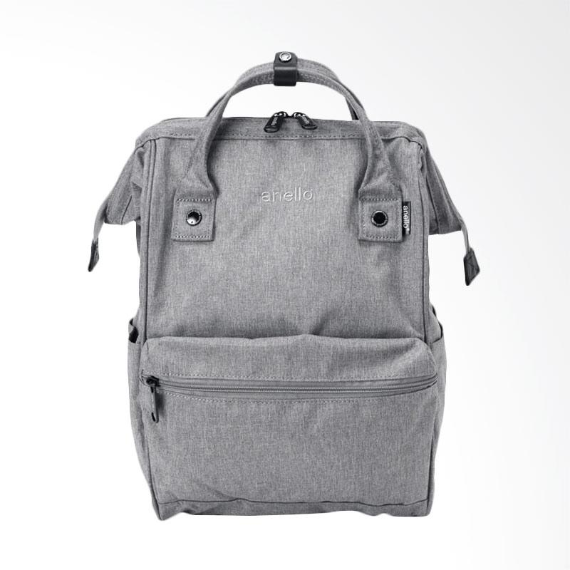 Anello HD Casual Backpack Multifungsi - Grey