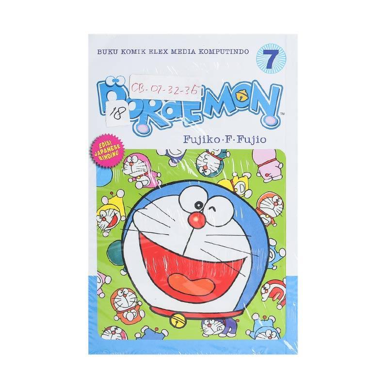 Elex Media Komputindo Doraemon 07 200554959 by Fujiko F. Fujio Buku Komik [Terbit Ulang]