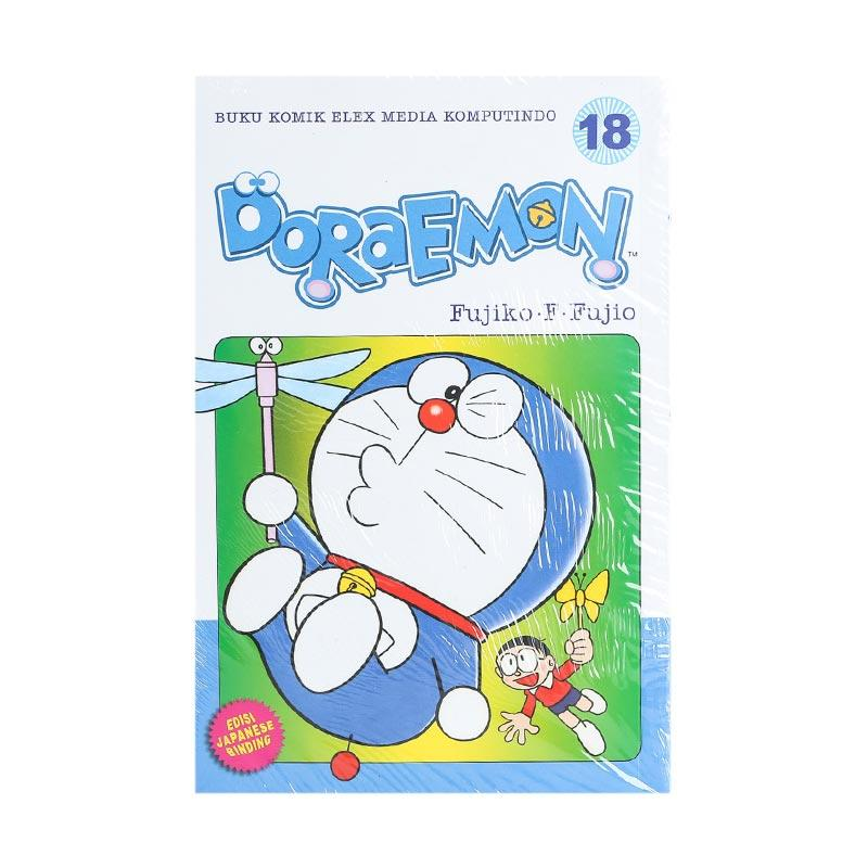 Elex Media Komputindo Doraemon 18 202035055 by Fujiko F. Fujio Buku Komik [Terbit Ulang]