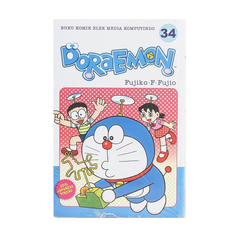 harga Elex Media Komputindo Doraemon 34 203612543 by Fujiko F. Fujio Buku Komik [Terbit Ulang] Blibli.com