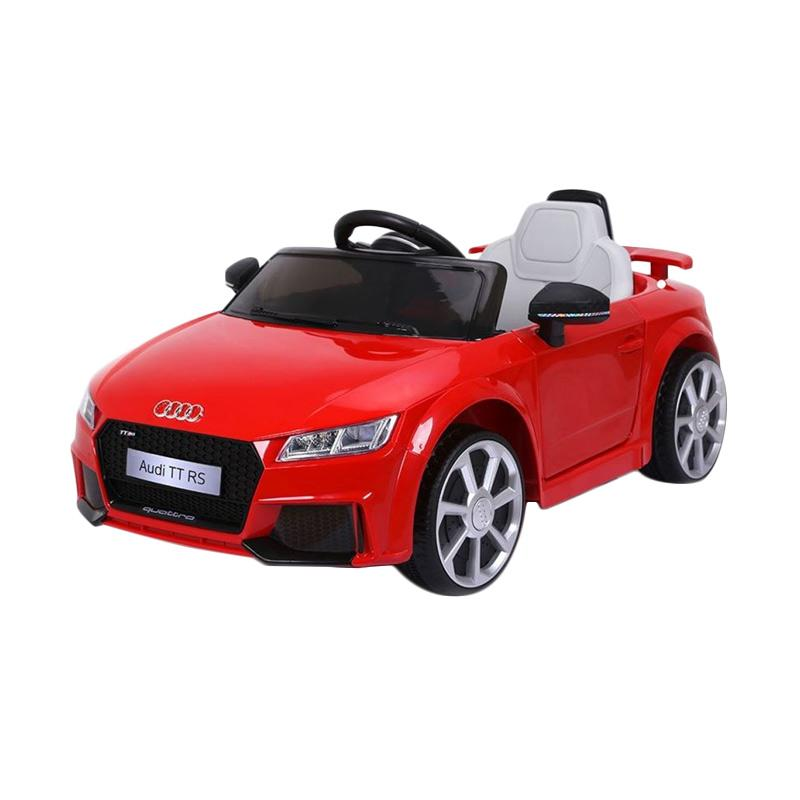 harga Kyrakidz Audi Tt Rs Mainan Mobil Aki - Red [Area Pulau Jawa] Blibli.com